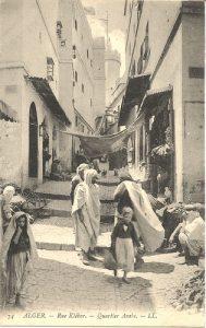 Photo (postcard?) Algeria circa 1908