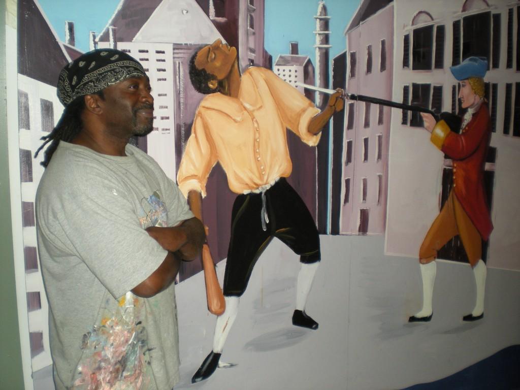 FMA mural & Thornhill