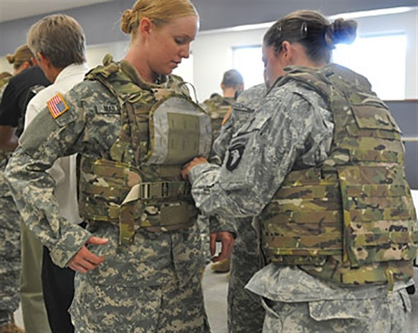 Female Soldiers' Health at Risk Under Current Military Practices