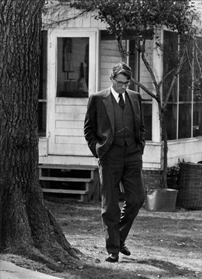 atticus finch as a heroic character Apparently a lot of people have some kind of relationship with the mythical atticus finch he is one of america's most admired and enduring fictional characters in 2003, in the guise of gregory peck who portrayed him in the 1962 film, he topped the list of the american film institute's 100 greatest movie.