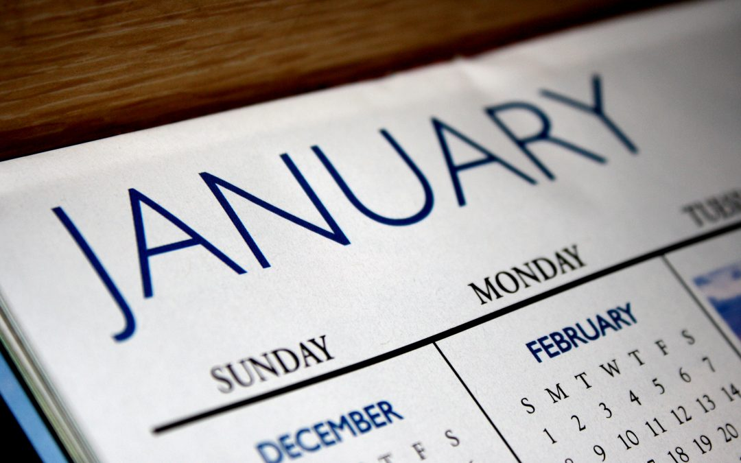 January Employment Search Timeline