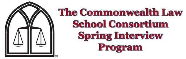 The Commonwealth Law School Consortium Spring Interview Program