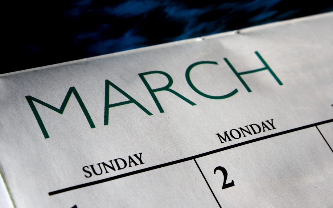 March Employment Search Timeline