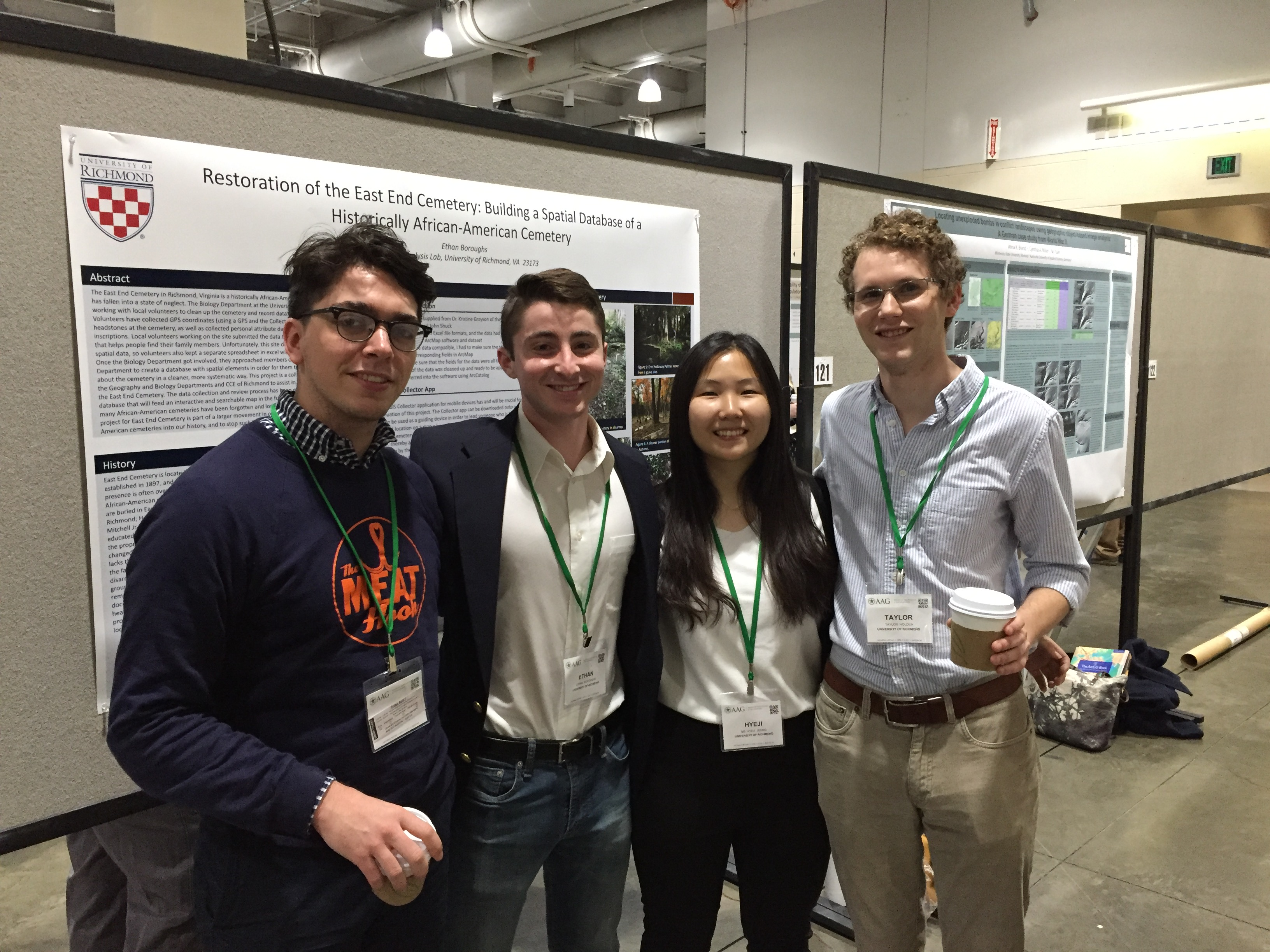 Left to Right: Jacob Salamy, Ethan Boroughs, Evelyn Jeong, and Taylor Holden
