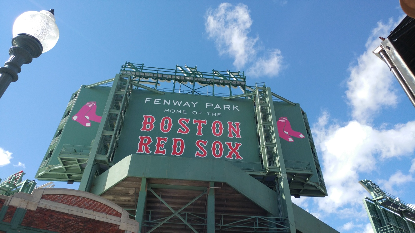 Fenway Park - Taken by Mary Finley-Brook