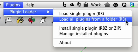 Plugin Loader screen