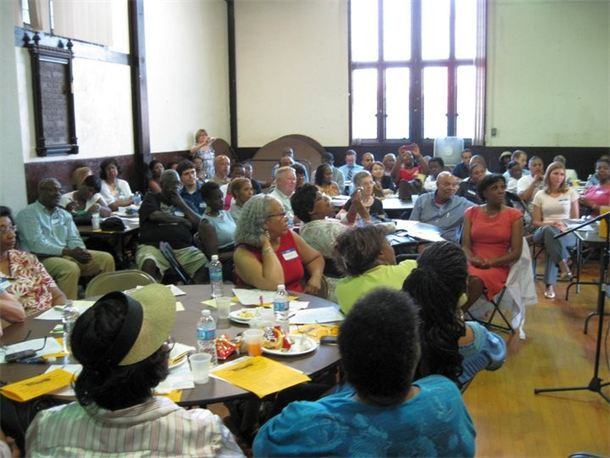 Richmond Speaks public forum discussing Lumpkin's Jail| Photo courtesy of Civic Dialogue.