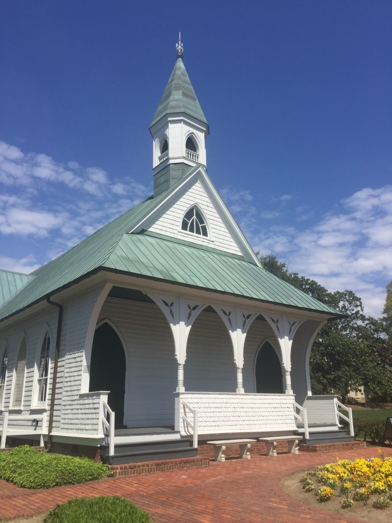 The Confederate War Memorial Chapel.
