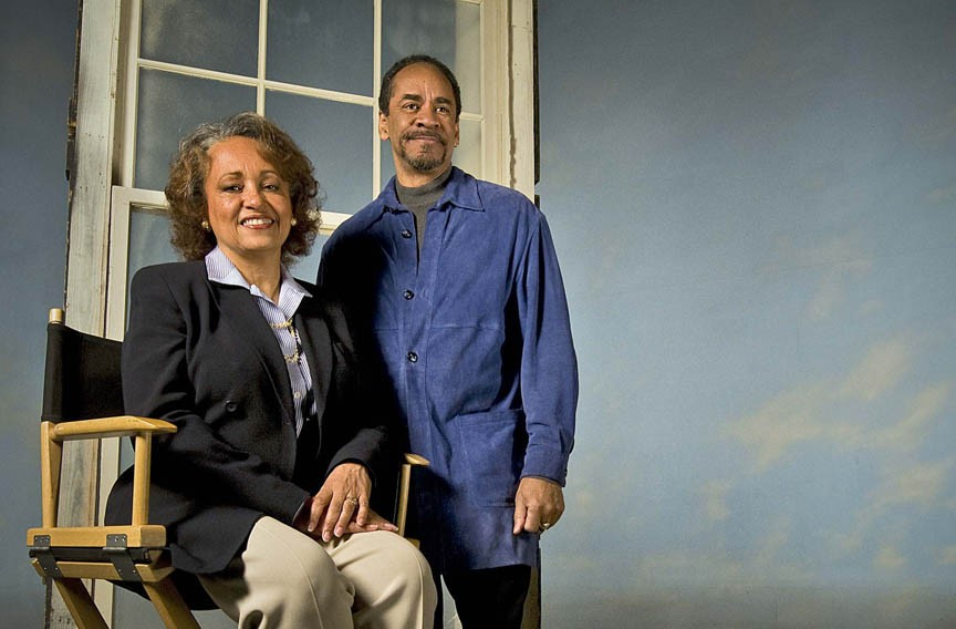 Tim and Daphne Reid. Photo by Ash Daniel, courtesy Style Weekly.