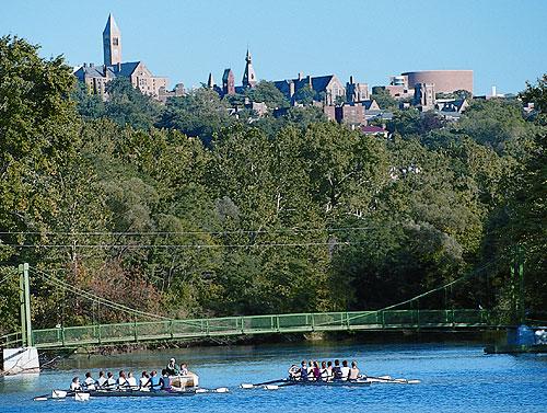 Bridge below Cornell